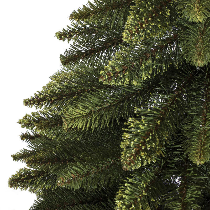 Artificial Christmas Tree Natural Green Spruce In A Burlap Sack