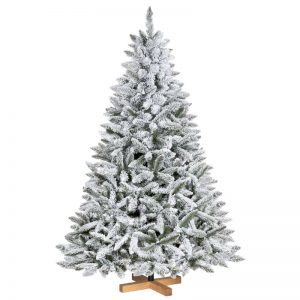 Artificial Christmas Tree Flocked Natural Spruce