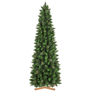 Artificial Christmas Tree Natural Green Pine Slim