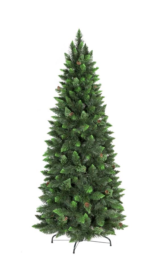 Artificial Christmas Tree Natural Green Pine Slim