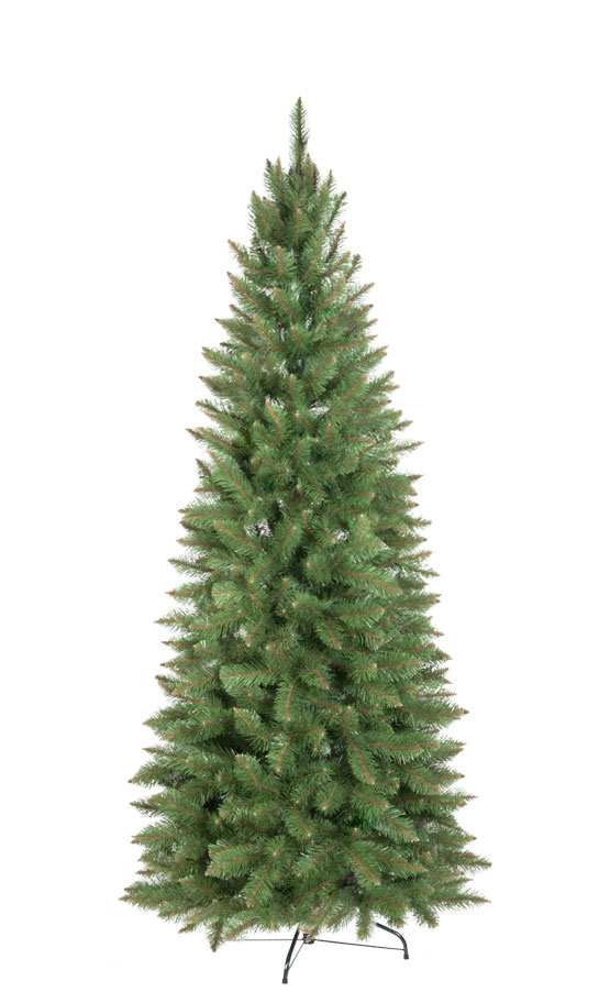 Artificial Christmas Tree Natural Spruce Slim