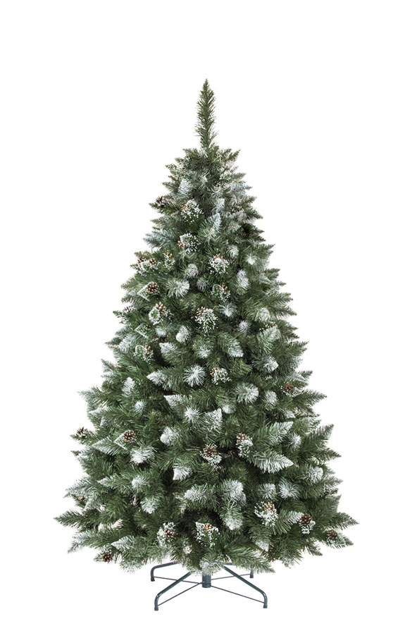 artificial Christmas tree Natural White Frosted Pine